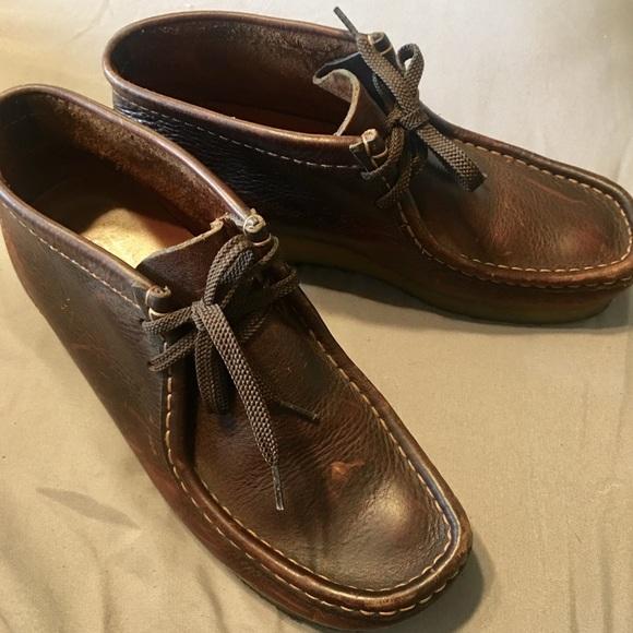 Clarks Wallabees Leather | Poshmark